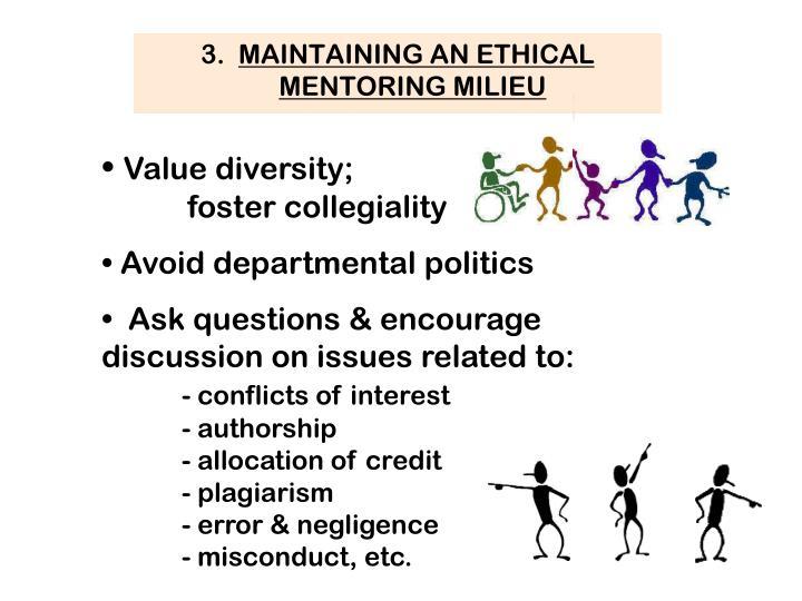 Value diversity;