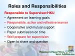 roles and responsibilities1