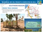 australia jnf kkl projects completed in 2011