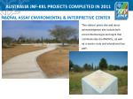 australia jnf kkl projects completed in 20111
