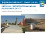 australia jnf kkl projects completed in 20113