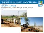 australia jnf kkl projects completed in 20114