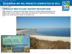 australia jnf kkl projects completed in 20115