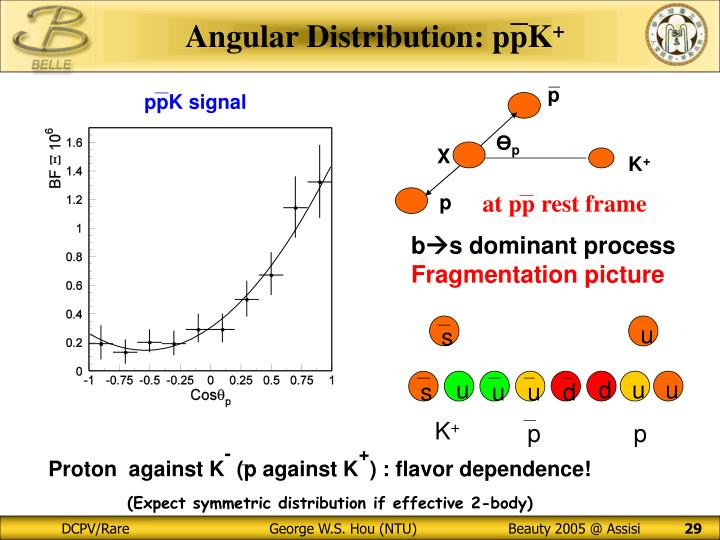 Angular Distribution: ppK