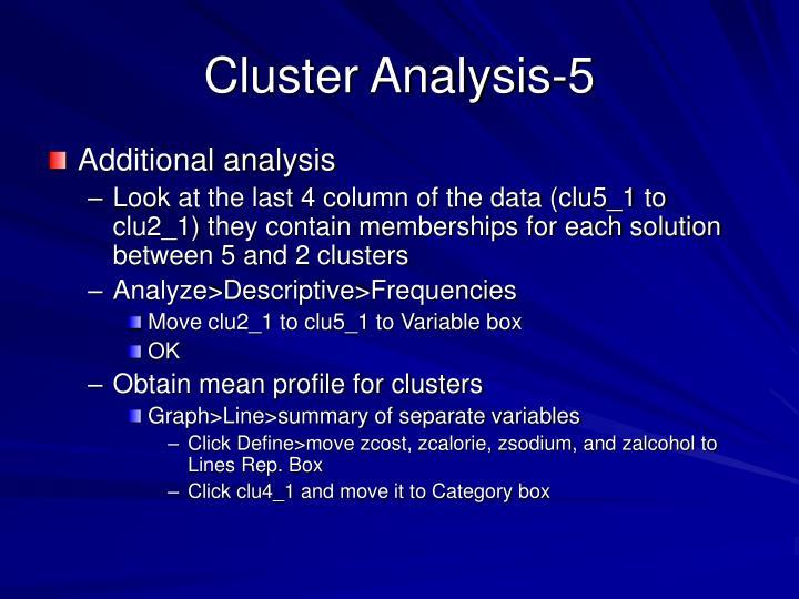 Cluster Analysis-5