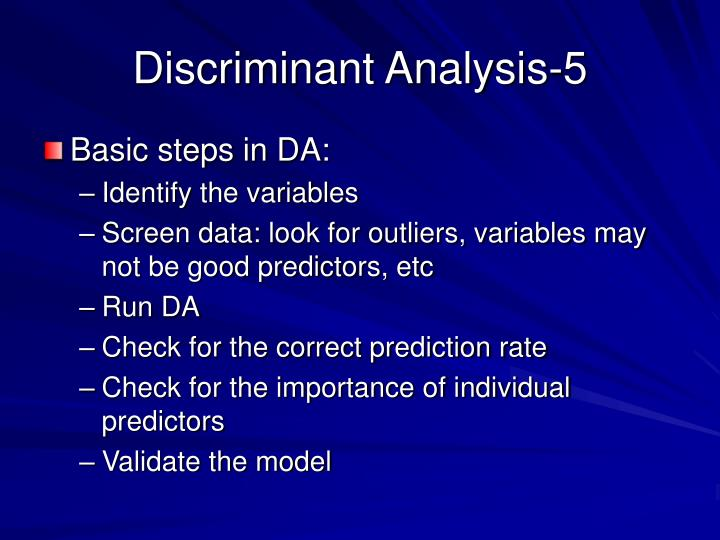 Discriminant Analysis-5
