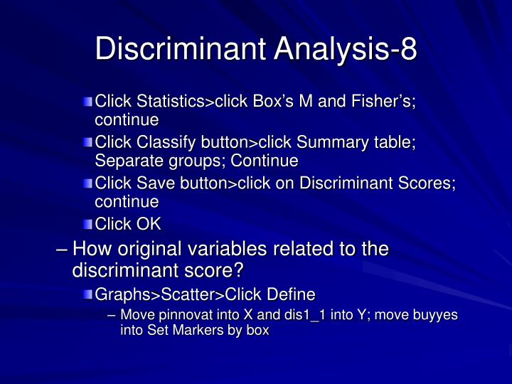 Discriminant Analysis-8
