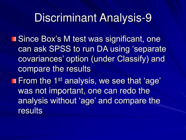Discriminant Analysis-9