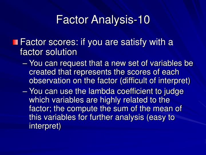 Factor Analysis-10