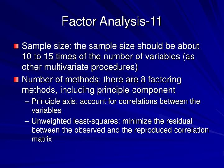 Factor Analysis-11