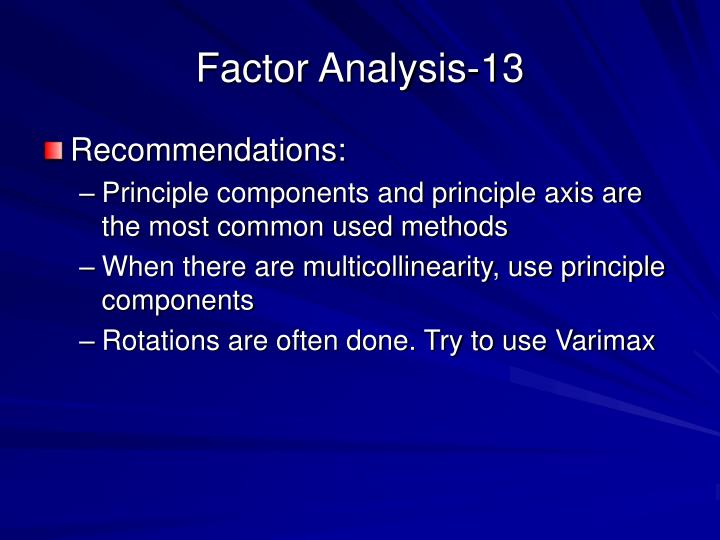 Factor Analysis-13