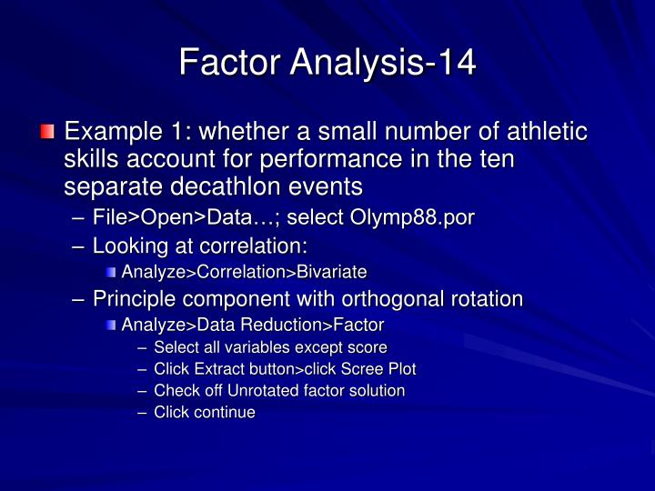 Factor Analysis-14