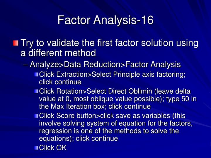 Factor Analysis-16