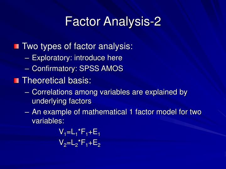 Factor Analysis-2