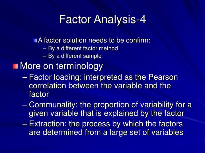 Factor Analysis-4