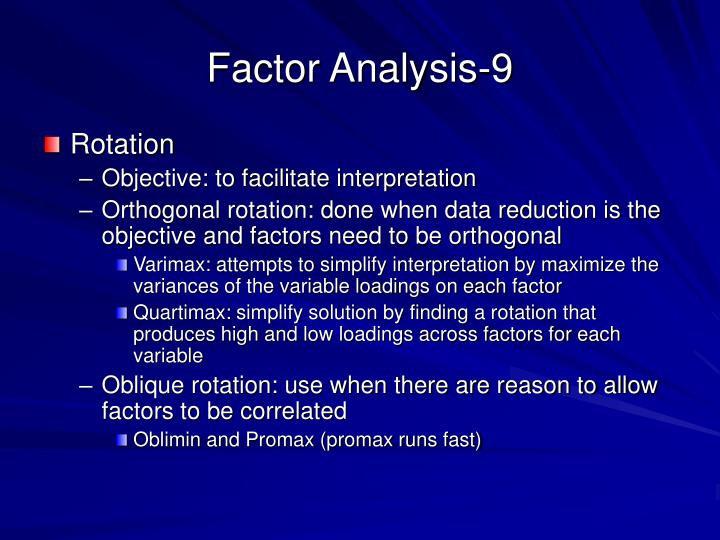 Factor Analysis-9