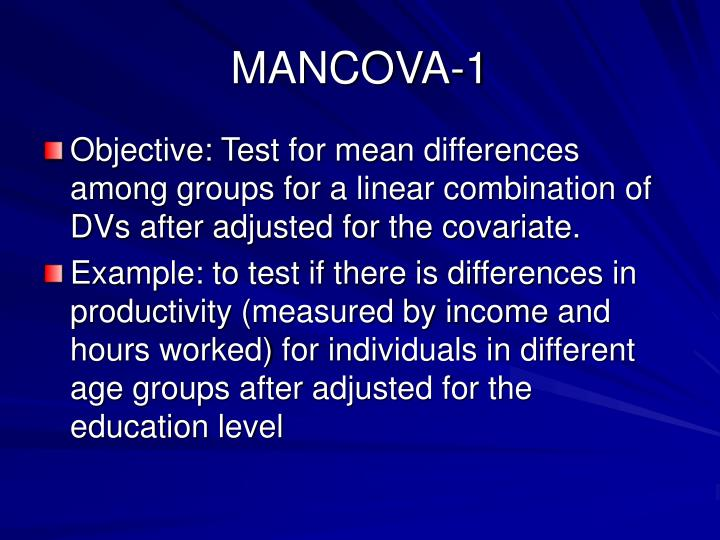 MANCOVA-1