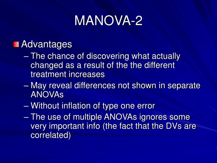 MANOVA-2