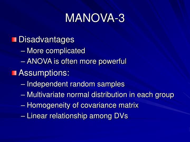 MANOVA-3