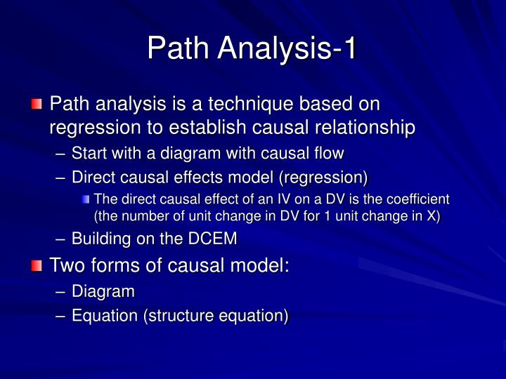 Path Analysis-1