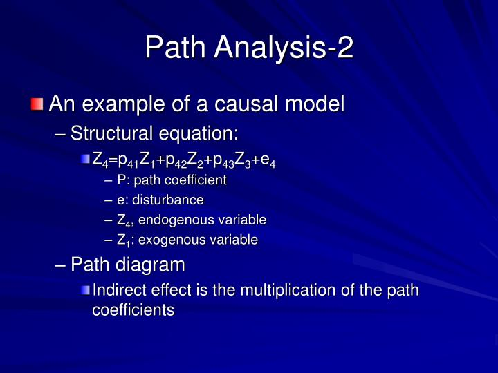 Path Analysis-2