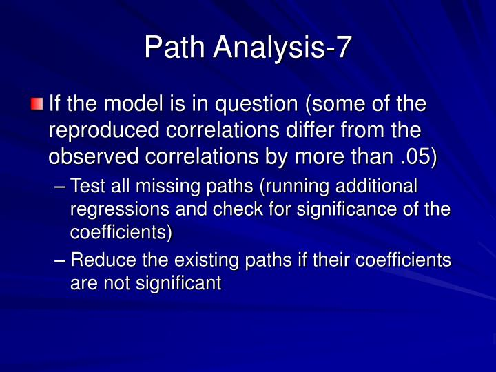 Path Analysis-7