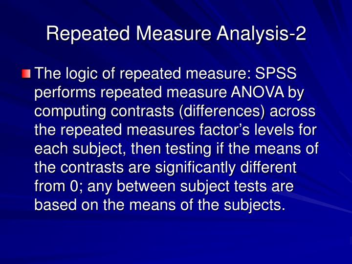 Repeated Measure Analysis-2