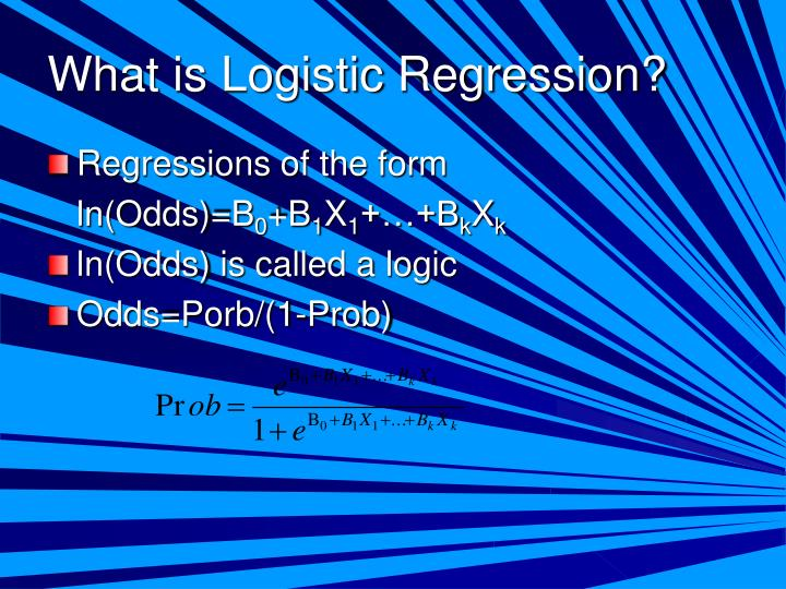 What is Logistic Regression?