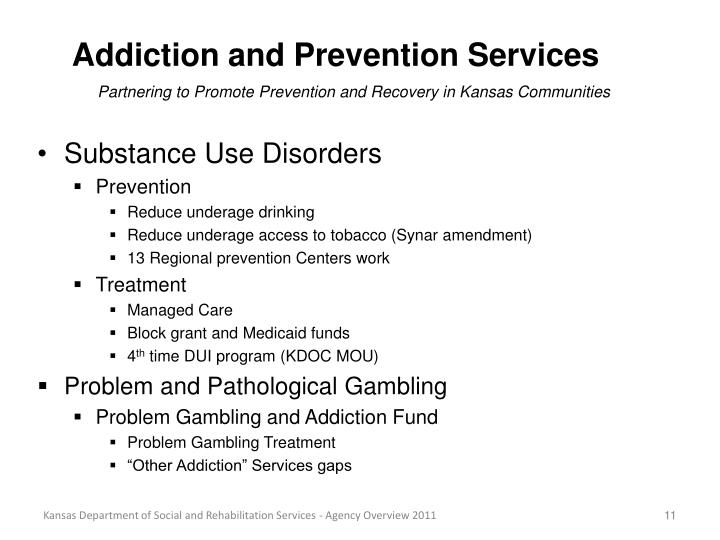 Addiction and Prevention Services