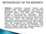 methodology of the research1
