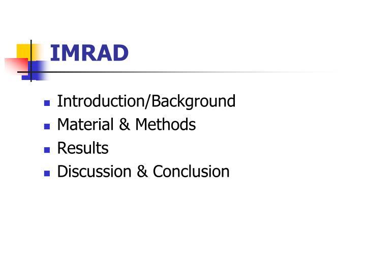 IMRAD
