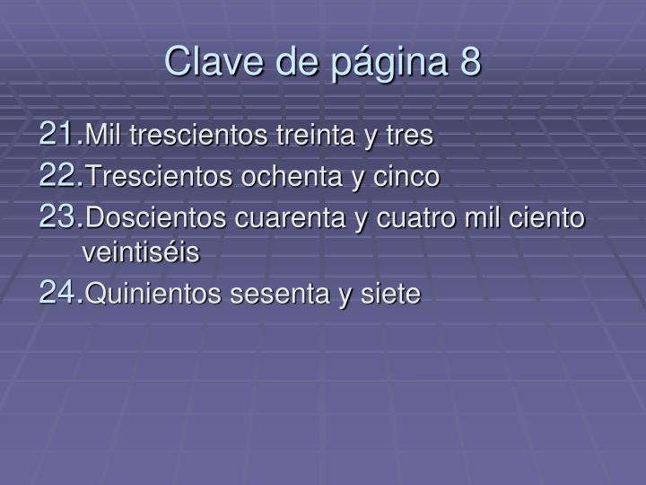Clave de