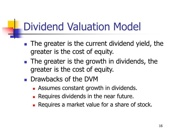 Dividend Valuation Model