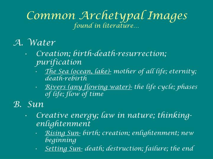 Common Archetypal Images