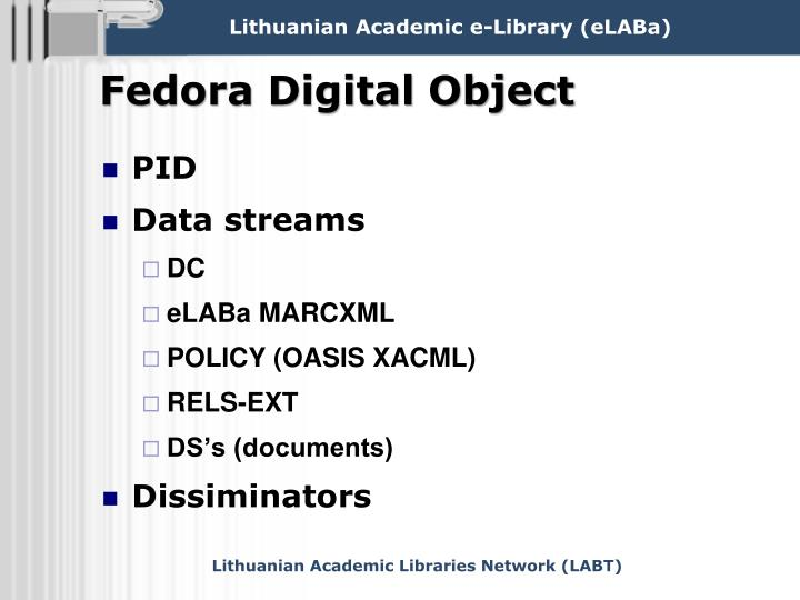 Fedora Digital Object
