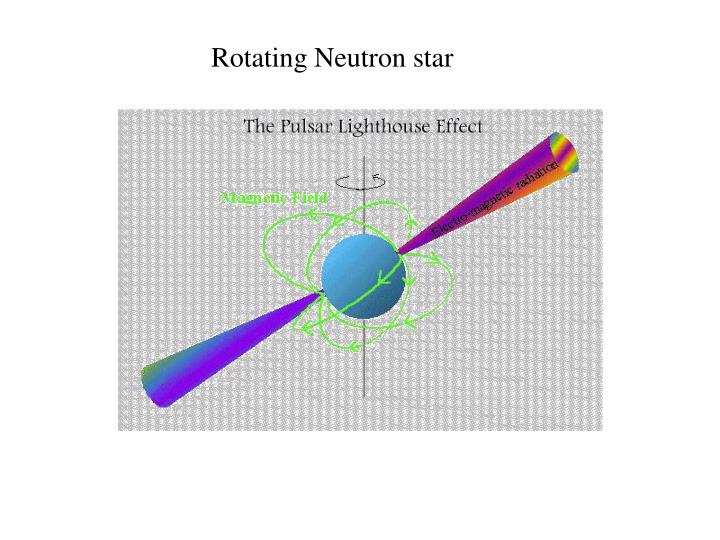 Rotating Neutron star