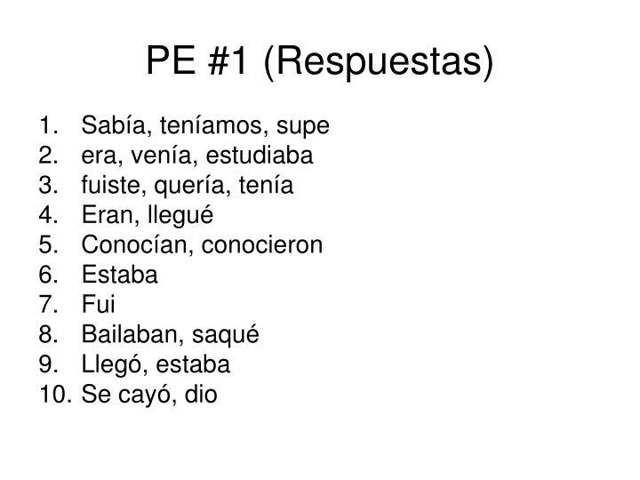 PE #1 (Respuestas)