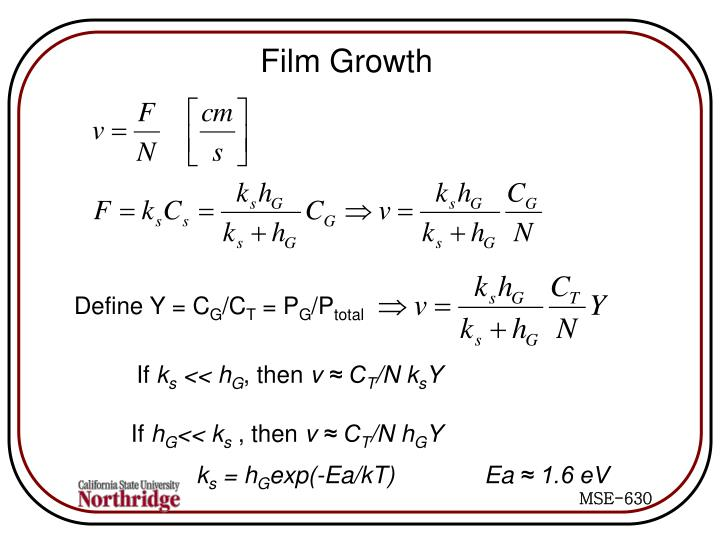 Film Growth