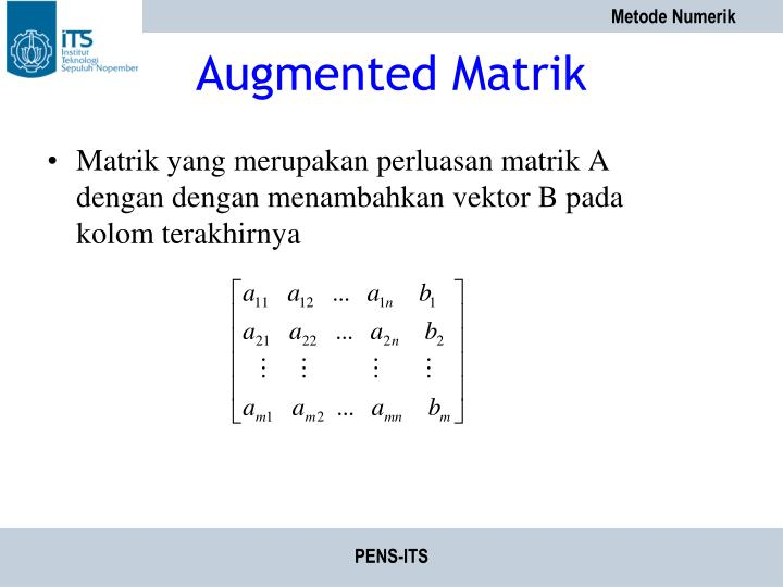 Augmented Matrik