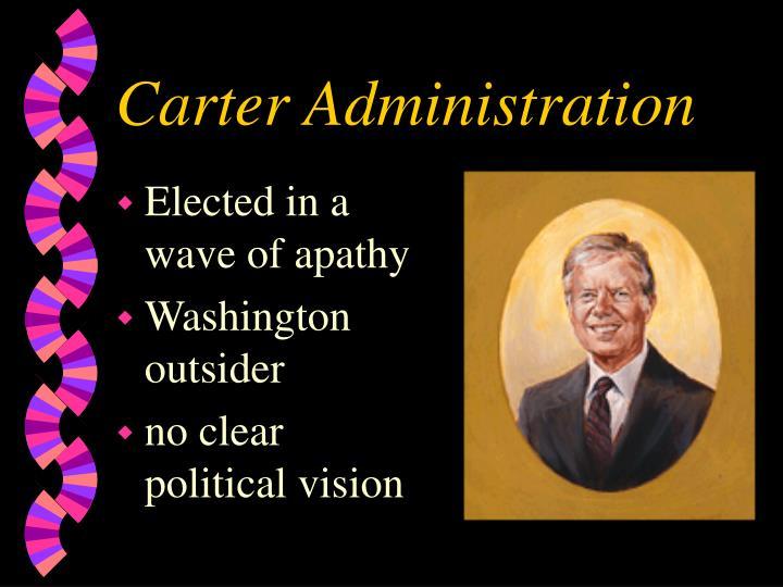 Carter Administration