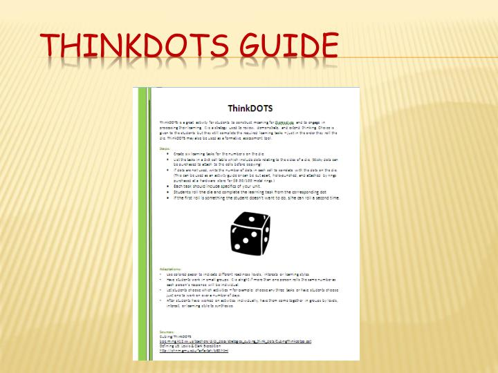 ThinkDots Guide