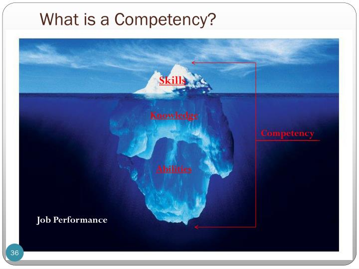 What is a Competency?