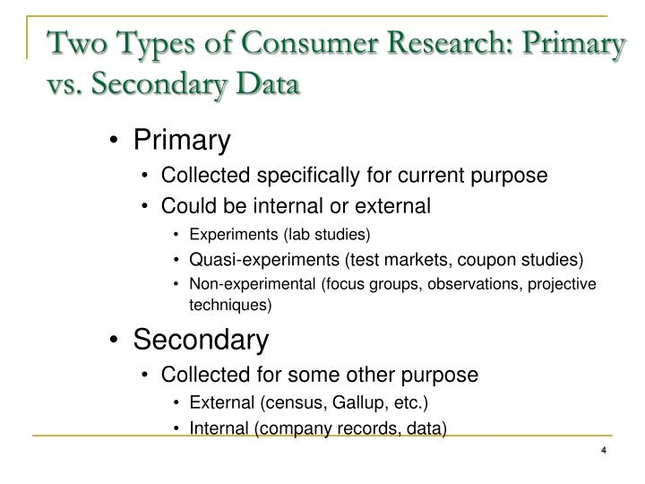 primary data in research