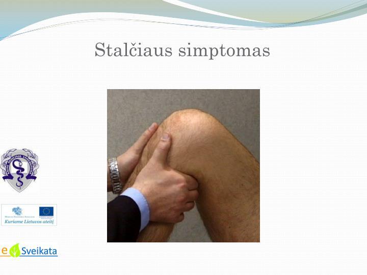 Stalčiaus simptomas