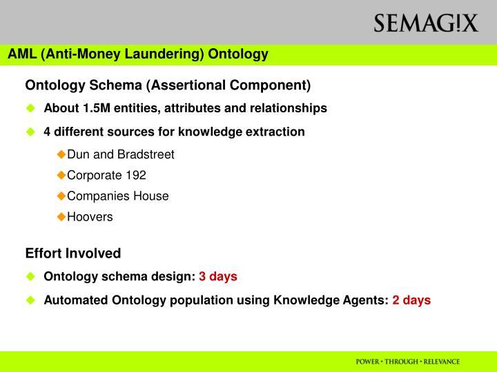 AML (Anti-Money Laundering) Ontology