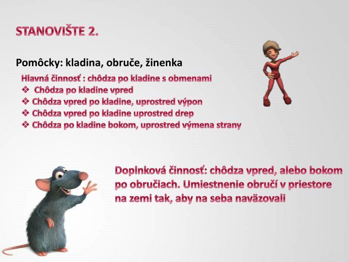 STANOVIŠTE 2.