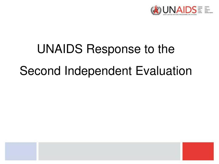 UNAIDS Response to the
