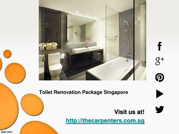Toilet Renovation Package Singapore