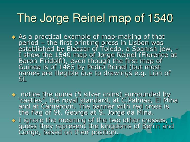 The Jorge Reinel map of 1540