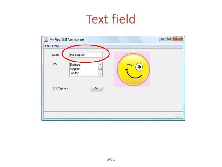 Text field